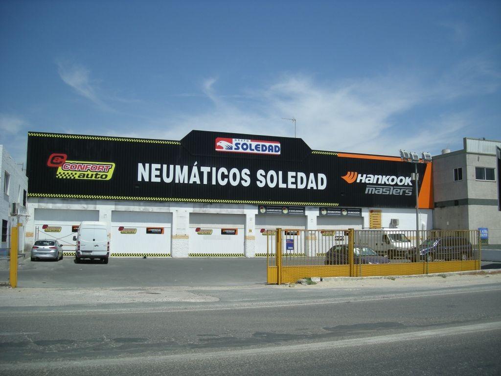 Neumáticos Soledad en Reparamiauto