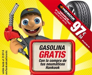 Gasolina gratis!